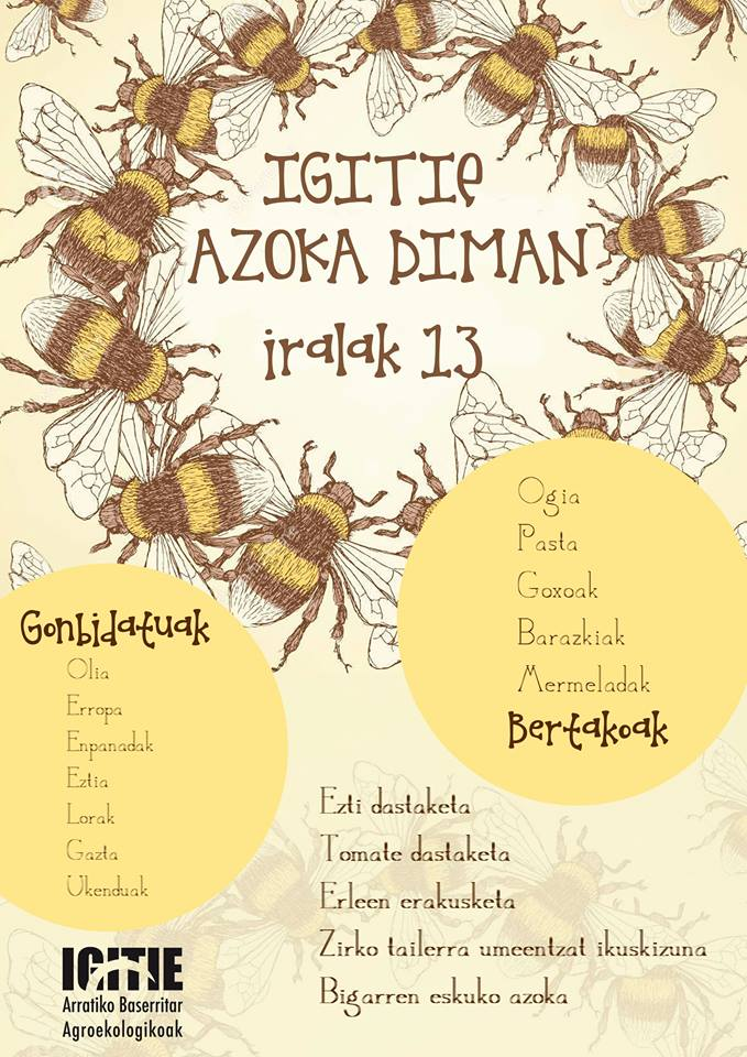 Barazki, kontserba eta mermeada ekologikoak Hortalizas, frutas, conservas y mermelas ecológicas.